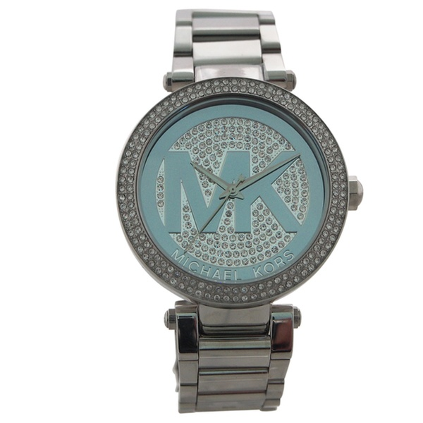 0f038269cd66 Michael Kors MK5925 Parker Pave Silver-Tone Watch