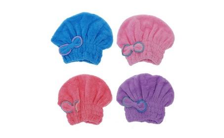 Textile Useful Dry Microfiber Turban Quick Hair Hats Wrapp Towels ba94c448-faf7-43bf-baae-8cbc2dfd2c17