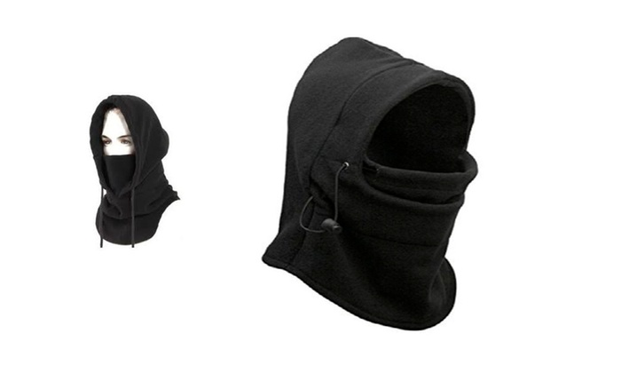 3 Packs of Soft Camper Warm Zero Degree Thermal Fleece Balaclava Hood  – 3