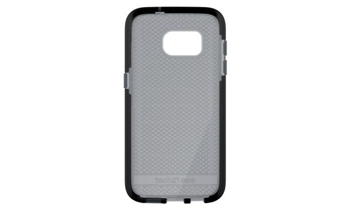 finest selection 88fb0 004d6 Tech21 Evo Check FlexShock Case Samsung Galaxy S6 Smokey Black