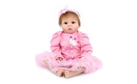 "22"" Newborn Alive Baby Dolls Silicone Vinyl Reborn Babie Toy f9c545c4-5699-451f-b977-2f06fc67472d"