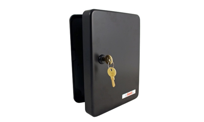 FJM Security SL 9122 KB Keyguard Black 122 Hook Key Cabinet ...
