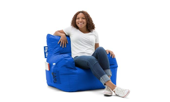 Phenomenal Big Joe Bean Bag Chair Multiple Colors 33 X 32 X 25 Blue Machost Co Dining Chair Design Ideas Machostcouk