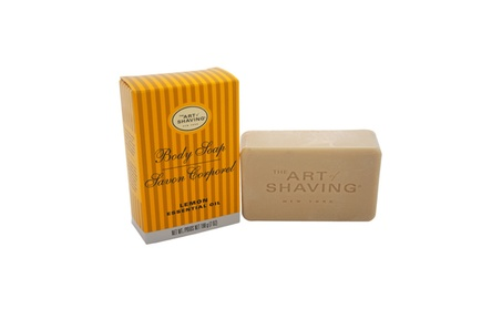 Body Soap - Lemon by The Art of Shaving for Men - 7 oz Soap fc6a997f-d64a-405f-a17e-f6a482d546ae