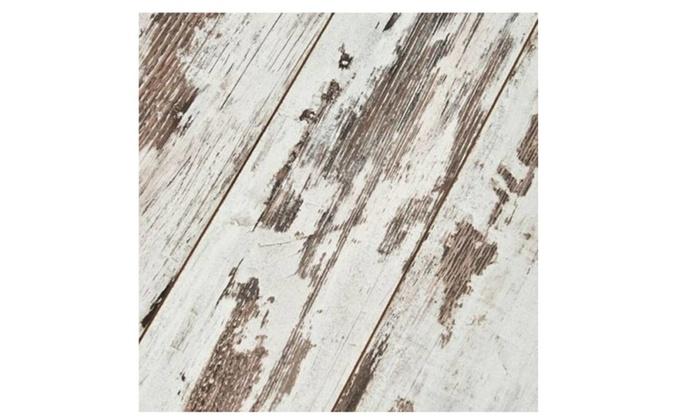 Laminate Wood Flooring Beveled Plank Tiles Hardware Home Groupon