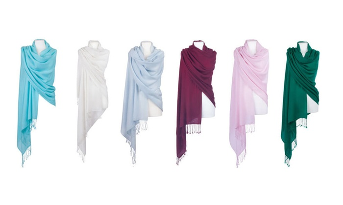 Women's Luxurious Pashmina Scarves – Assorted Colors 3 – pack