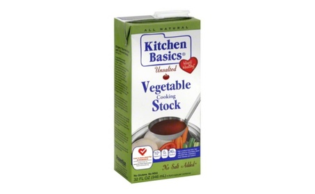 Kitchen Basics Stock Vegetable Unsalted, Pack of 12 - 32 oz. fd752c87-4771-4dba-a7e8-b5c4bfa6c002