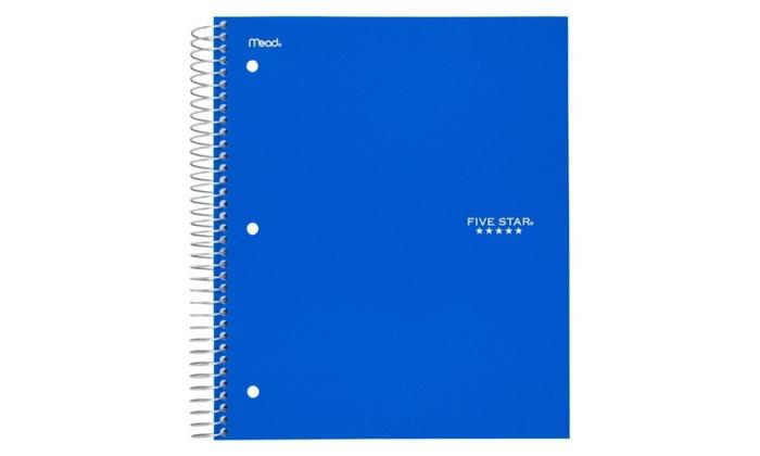 f557a2f5630e ... Five Star Spiral Notebook