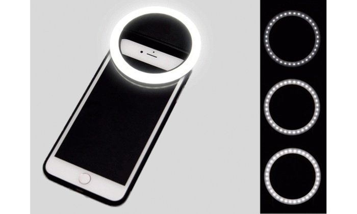 596851175a7 Up To 33% Off on Portable LED Selfie Ring Light | Groupon Goods