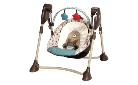 Swing By Me Portable Baby Swing, Twister a3a734d7-8701-4123-80b9-5f263f974d80