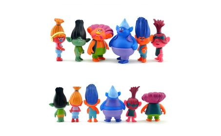 New Trolls Dolls Action Figures Toys 6pcs/set Popular Anime Cartoon 9b9b3c4c-b3b0-42f0-bb93-cbba3cc01fad