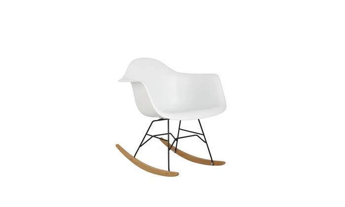 Bucket Rocket Chair   White
