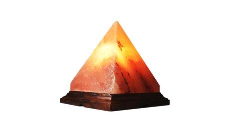 SALTGEMS Pyramid Shape Himalayan Salt Lamp Air Purifier 312991bf-ef1b-426f-9b46-bd19415d7f75