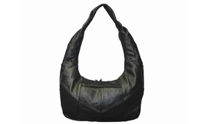 Classic Hobo Casual Look 100% Luxuries Genuine Leather