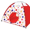 IMAGE® Kids Playing Hut House Dots Pop Up Tent And Crawl Tunnel Set
