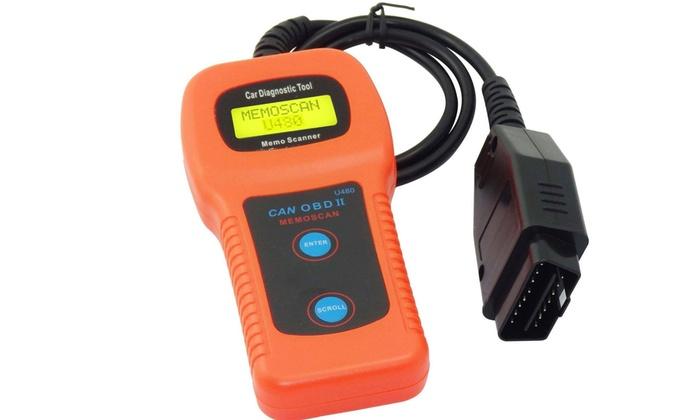 Up To 60% Off on U480 Car Diagnostic Scanner T    | Groupon