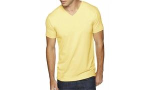 NLA Premium Sueded V-Neck T-Shirt, 6440