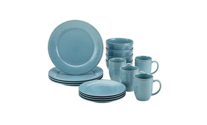 Shop Groupon Rachael Ray Cucina Stoneware Dinnerware Set (16-Piece)  sc 1 st  Groupon : hefty plastic plates - pezcame.com