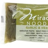 Miracle Noodle Zero Carb Gluten Free Garlic and Herb Fettuccini 6packs