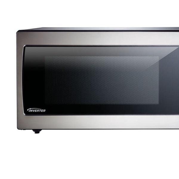 Panasonic Nn Sn766s Microwave Stainless Steel 1250 Watt 1 6 Cu Ft Groupon