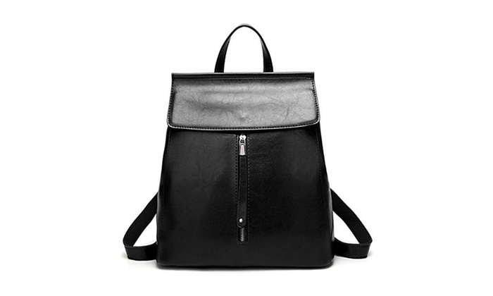 37106af8b1 Women Backpack Purse Casual Shoulder Bag Ladies Rucksack School Bag ...