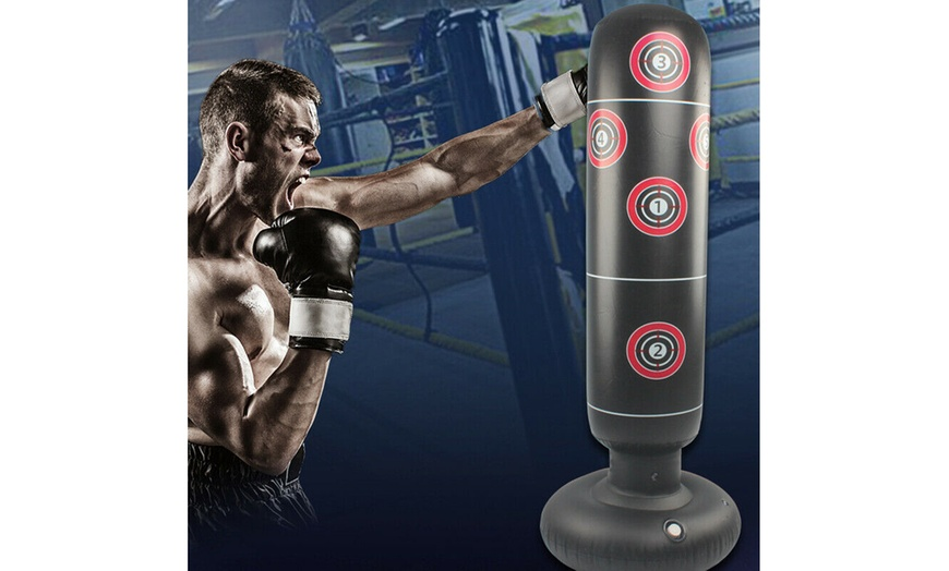 "Children Kids Free Standing 48/"" Punching Bag Kick Boxing MMA Muay Thai Exercise"
