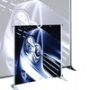Testrite Visual Products BN6-S Grand Format Banner Stands 24 in.-42 in. Large