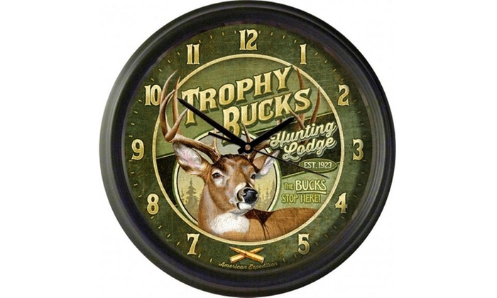 American Expedition Vintage Wall Clock Groupon