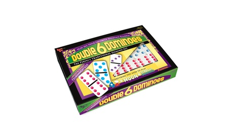 Double 6 Color Dot Dominoes - Tournament Size e848998c-7c6b-4b3e-8ab4-8a2345a69079