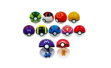 9PCS Cartoon Pokemon Pop-Up Toys Master Poke Ball Model Toy Kid Gift 3d3cba1d-503f-4fec-a355-685bd53740ae