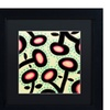 Sylvie Demers 'Mon Jardin' Matted Black Framed Art