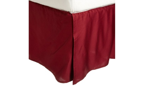 Superior 300 Thread Count Cotton Solid Bedskirt (15in-Drop) 0c69b00c-a065-44b0-8a09-5dc708e6fdf2