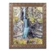 Pierre Leclerc 'Maligne Canyon' Ornate Framed Art
