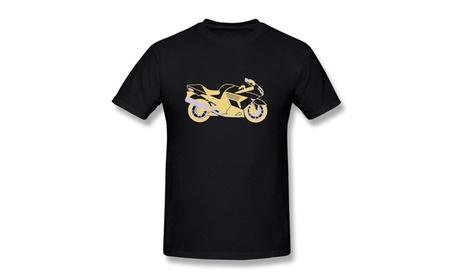CHUNYAO Motorcycle Tee Shirts For Mens Black e453cb24-27d4-4c69-b234-cc9e08c81ad5