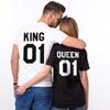 Unisex King Queen 01 Premium Shirt - Custom Oversized Bold HD Graphics