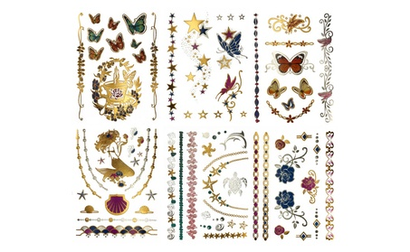 75+ Color Temporary Tattoos for Kids Adults w/ Butterfly Gold Mermaid 8c12b441-fb89-4e0d-9b42-5f488224f7bb