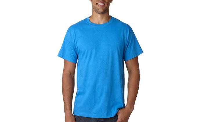 Fruit of the Loom Mens 5.4 oz. Cotton T-Shirt, 3930R-2