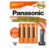 Genuine AAA NiMH Rechargeable Batteries for DECT Cordless Phones, 4 Pk