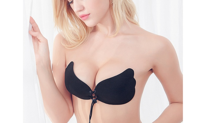 4ff3f77477 Up To 79% Off on Strapless Backless BRA Push U...