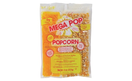 Gold Medal 2836 6 oz Megapop Corn-Salt-Oil Popcorn Kit - pack of 36 bff1056d-7809-48b4-ab06-10f3ab996091