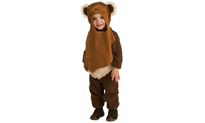 4a683b84e Rubies Costumes 185902 Star Wars- Ewok Infant-Toddler Costume Size: Toddler  (2/4 Multi-color