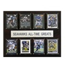 """NFL 12""""x15"""" Seattle Seahawks All-Time Greats Plaque"""
