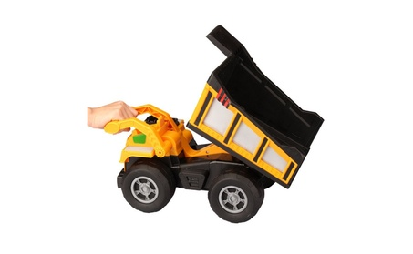 Kid Galaxy Mega Dump Truck. Construction Vehicle Toy eea21ad2-c54f-439e-9afc-9e1a1b047af0