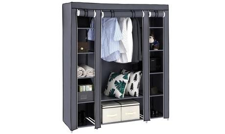 Clothes Closet Organizer Portable Closet Shelves