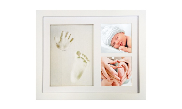 Up To 23% Off on Clay Hand & Footprint Frame Kit | Groupon Goods