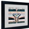 Yale Gurney 'V8' Matted Black Framed Art
