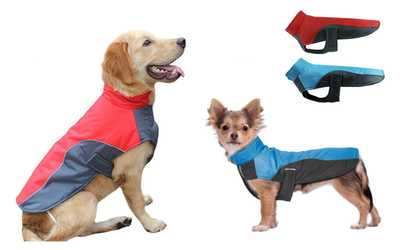 Shop Groupon Waterproof Big Dog Clothes Reflective Warm Pet Puppy Coats  Jacket for Large Dogs 60f3785f3