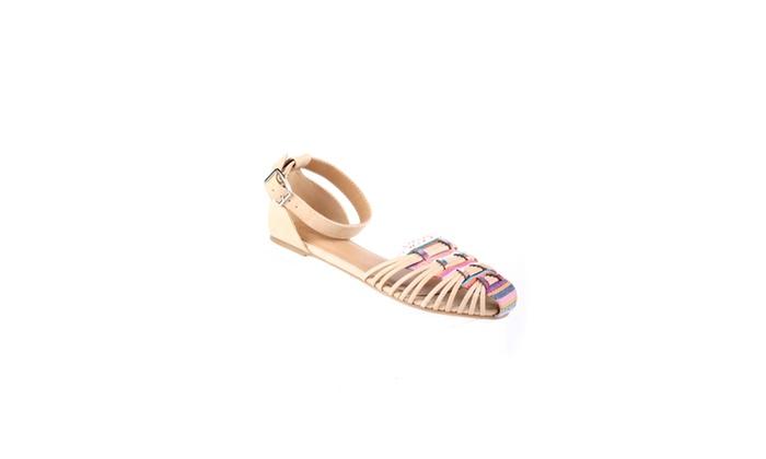Xehar Women's Casual Fashion Tribal Flat Sandal