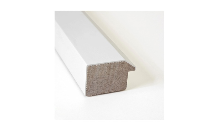 Up To 15% Off on Framed Cork Board, Blanco White   Groupon Goods