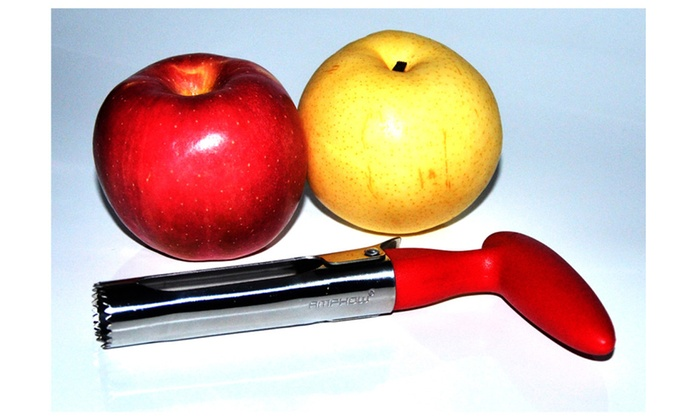 AMPHOW Stainless Steel Apple & Pear Fruit Corer Remover